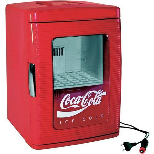 Minilodówka turystyczna / party cooler, termoelektryczna  coca-cola mf25 12/230v 526430, 12 v, 230 v, 23 l, czerwony marki Ezetil