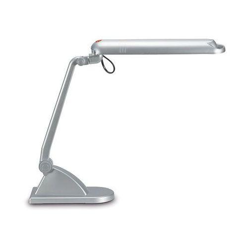 Lampka na biurko MAUL Adria, 11W, energooszczędna, srebrna - sprawdź w Zilon
