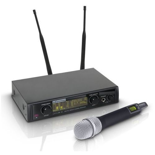 LD Systems WIN 42 HHC B 5 mikrofon bezprzewodowy doręczny pojemnościowy