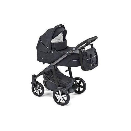 Wózek głęboko-spacerowy 3w1 husky black (new 2019) 10 marki Baby design