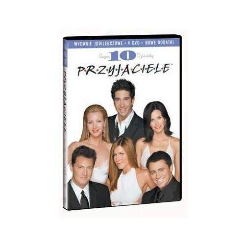 Przyjaciele. sezon 10 [4dvd] - wydanie jubileuszowe - david crane marki Mgm