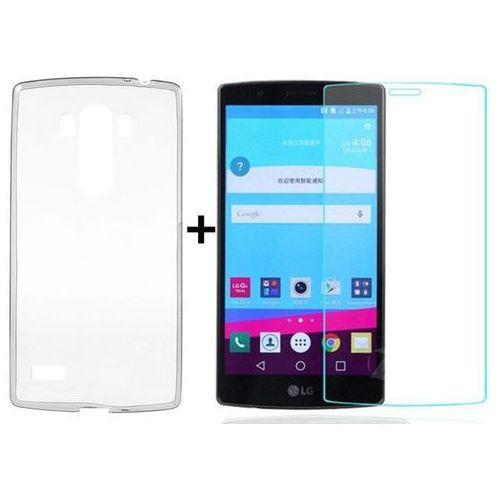 Ultra slim / perfect glass Zestaw | obudowa ultra slim przezroczysta + szkło hartowane perfect glass | lg g4