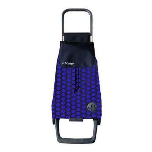 Wózek na zakupy Rolser JOY Jet Baby Luna Azul/Negro NOWOŚĆ! (wózek na zakupy)