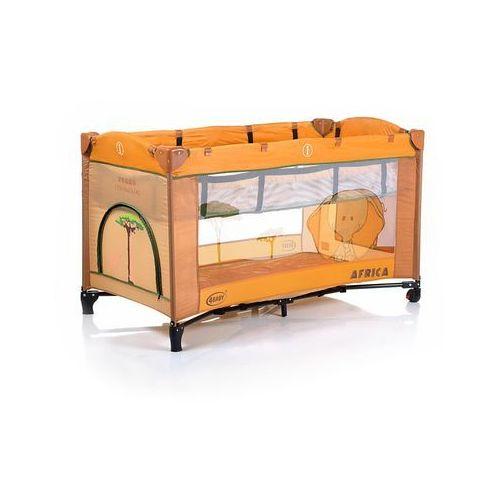 4Baby Łóżeczko turystyczne Vegas Co, pomarańcz - produkt dostępny w Mall.pl