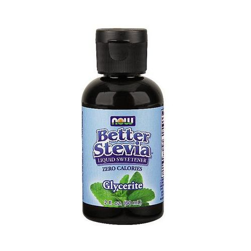 Now Foods Better Stevia Glycerite 60ml, NOW FOODS