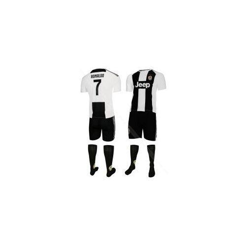 Ronaldo - juventus turyn - komplet piłkarski - koszulka, spodenki + skarpety bs sport marki Fabrik