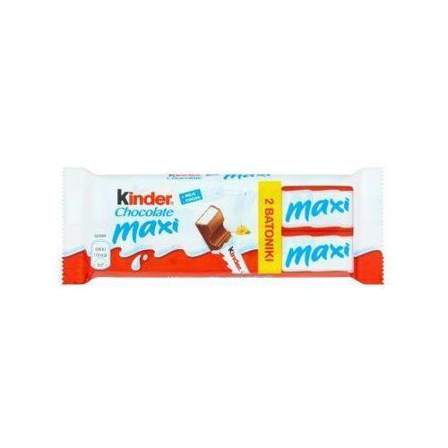 Batonik z mlecznej czekolady z nadzieniem mlecznym Kinder Chocolate Maxi 42 g (2 batoniki) (4008400224022)