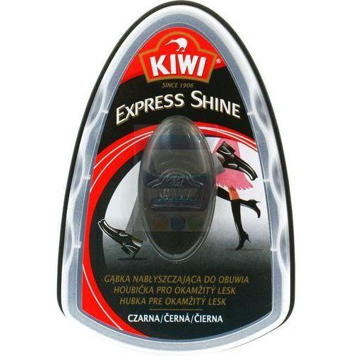 KIWI Express Shine Czarna Gąbka nabłyszczająca do obuwia (5000204679649)