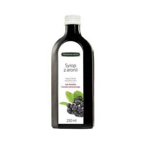 Premium rosa 250ml aronia syrop o niższej zawartości cukru