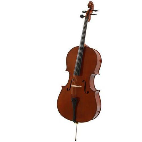 gewapure ew wiolonczela komplet ze smyczkiem i pokrowcem marki Gewa