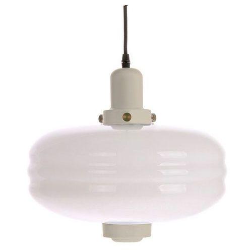 HK Living Lampa wisząca rozmiar L białe szkło/kremowe akcenty VOL5035, VOL5035