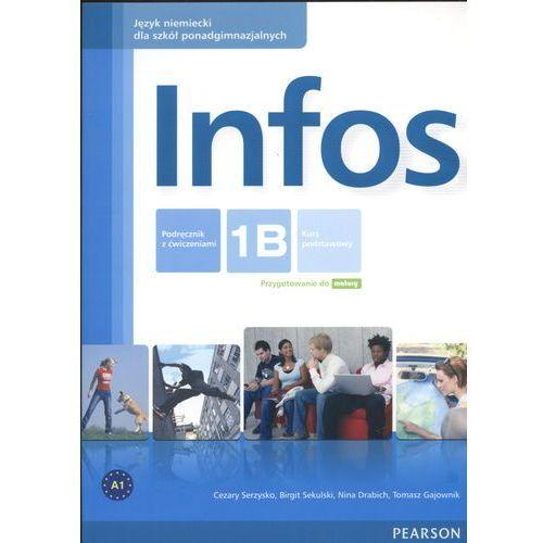 Infos 1B Podręcznik z ćwiczeniami (+CD), oprawa miękka