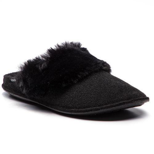 Kapcie - classic luxe slipper 205394 black marki Crocs