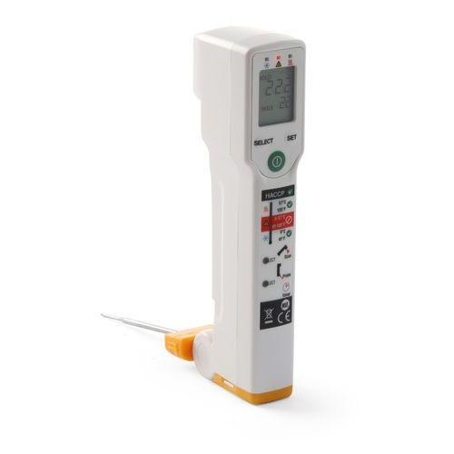 Termometr cyfrowy bezdotykowy z sondą   , pro plus haccp marki Fluke