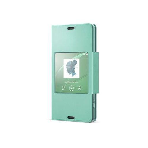 Sony Etui scr26 do xperia z3 compact turkusowy (7311271480242)