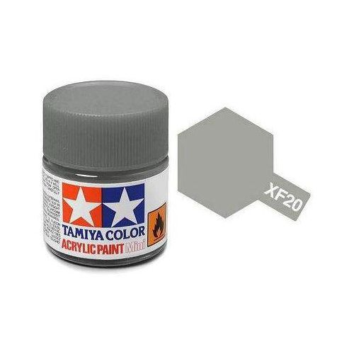 Tamiya Farba akrylowa - xf20 medium grey matt / 10ml 81720 (45035678)