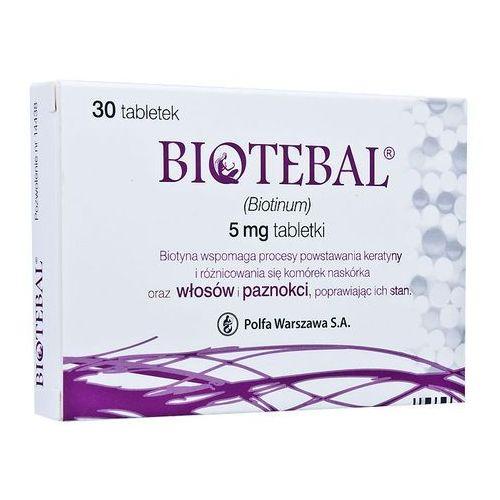 Biotebal tabl. 5 mg 30 tabl. (blistry) - oferta [055eda4d533f522f]