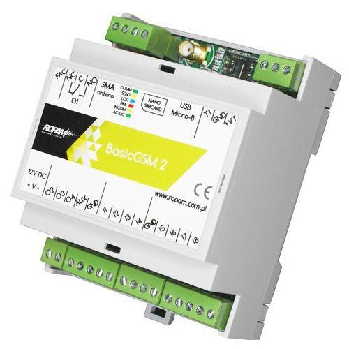 Basicgsm-d4m 2 moduł powiadomienia i sterowania gsm, terminal gsm marki Ropam