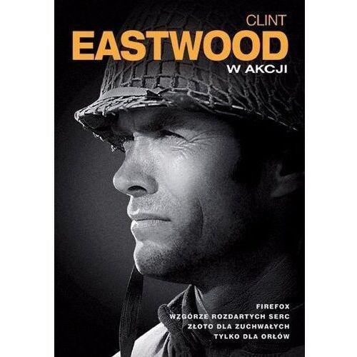 Różni reżyserzy Clint eastwood: akcja (4xdvd) -