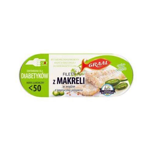 110g filety z makreli w wodzie z papryczką jalapeno diabetyk marki Graal