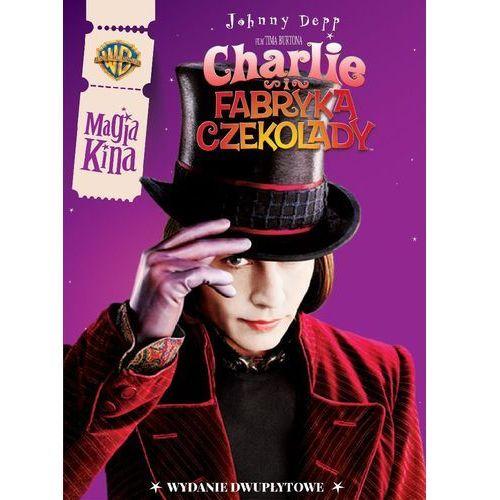CHARLIE I FABRYKA CZEKOLADY (2DVD) MAGIA KINA (7321918593372)