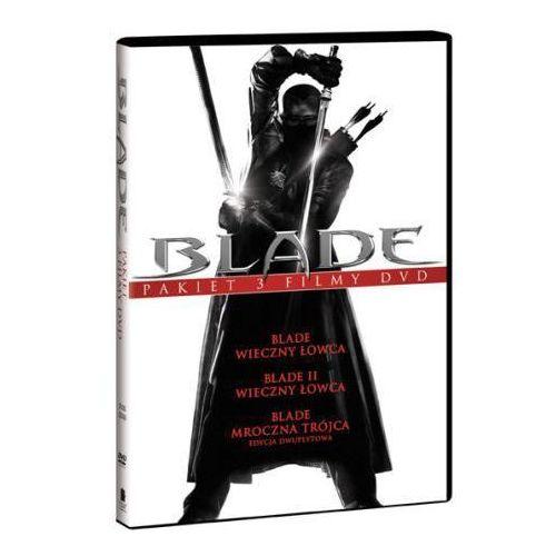 Stephen norrington Blade trylogia (3xdvd) - darmowa dostawa kiosk ruchu (7321909322202)