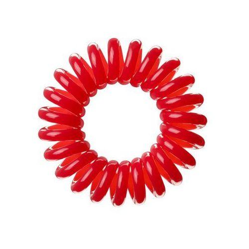 Invisibobble the traceless hair ring gumka do włosów 3 szt dla kobiet red (4260285370670)