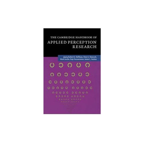Cambridge Handbook of Applied Perception Research 2 Volume Hardback Set (9781107096400)