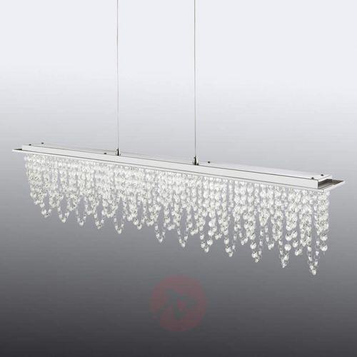 Hofstein Slidre lampa wisząca led chrom, 1-punktowy - nowoczesny/design - obszar wewnętrzny - pendelleuchte - czas dostawy: od 4-8 dni roboczych (9007371352678)