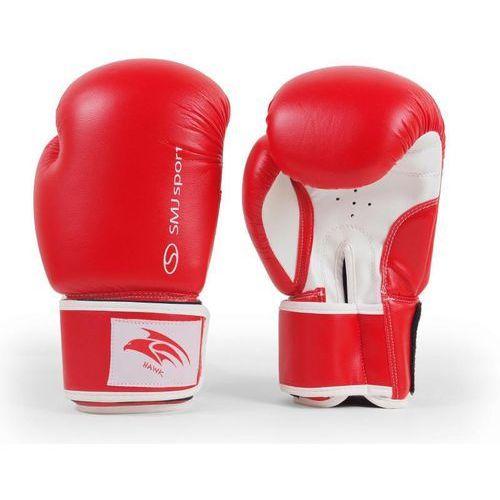 Smj sport Rękawice bokserskie smj hawk red 2016
