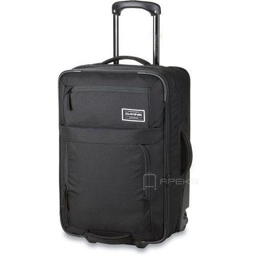Dakine status roller 45l black poszerzana torba podróżna na kółkach / walizka kabinowa - black