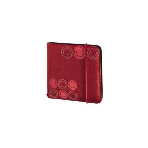 Opakowanie na cd/dvd HAMA Futerał na płyty CD 24szt CD-WALLET SLIM Gumka Czerwony - sprawdź w wybranym sklepie