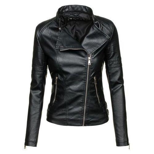 Czarna kurtka damska skórzana Denley 8828 - sprawdź w wybranym sklepie