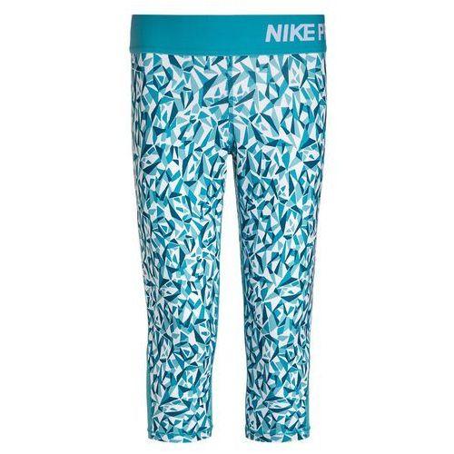 Nike Performance NIKE PRO DRY Legginsy blue lagoon/omega blue/white (legginsy dziecięce) od Zalando.pl