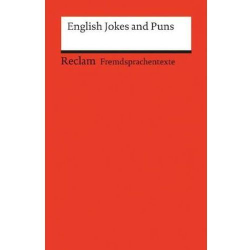 English Jokes and Puns (9783150197004)