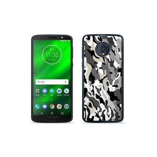 Motorola Moto G6 Plus - etui na telefon Fantastic Case - szare moro, kolor szary