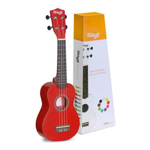 us red ukulele sopranowe marki Stagg