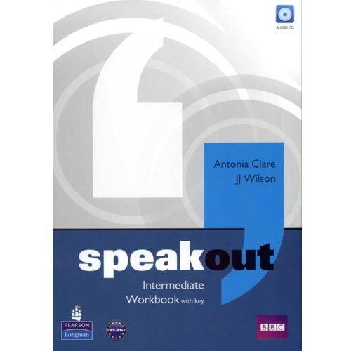 Speakout Intermediate, Workbook (zeszyt ćwiczeń) with Answer Key plus Audio CD (2011)