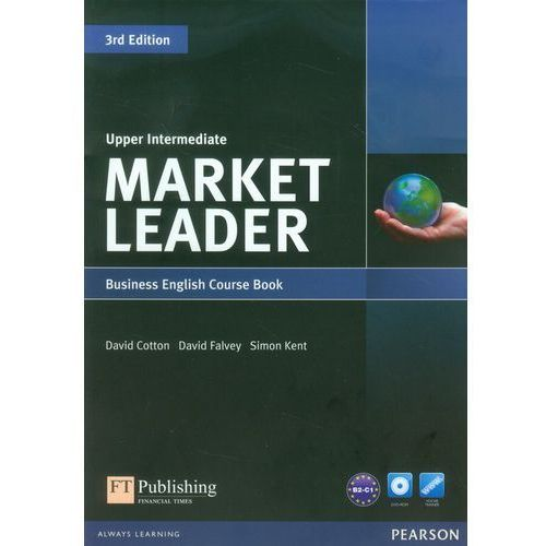 Market Leader Upper Intermediate Business English Course Book + Dvd (9781408237090)