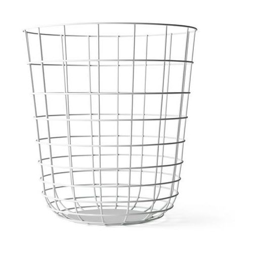Kosz druciany Menu Wire Bin white - oferta [25fe457ac735f34f]