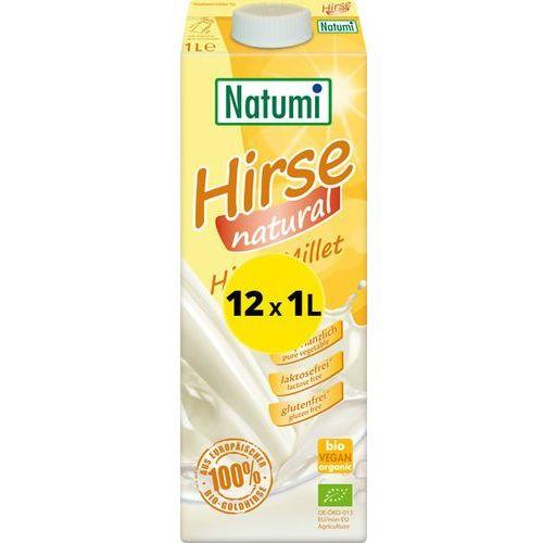 Natumi - bezmleczny napój z kaszy jaglanej 12x 1l eko zestaw marki 139natumi