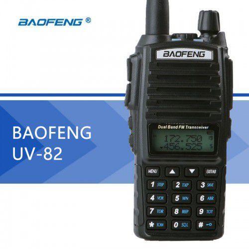 Radiotelefon uv-82 + kabel usb + antena nagoya na-771 marki Baofeng