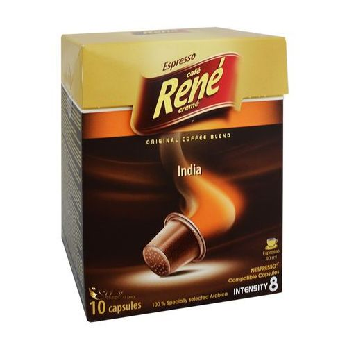 Rene India Nespresso 10 kapsułek, 1527