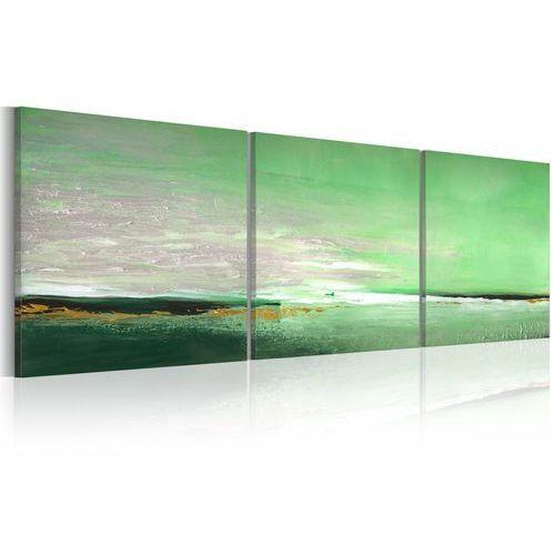 Artgeist Obraz malowany - seledynowe wybrzeże