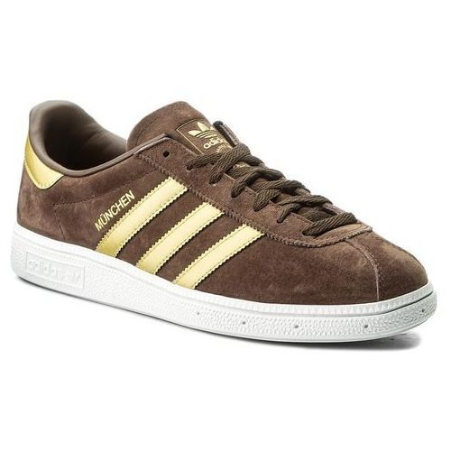 Buty adidas - Munchen CQ2320 Brown/Magold/Ftwwht, kolor brązowy