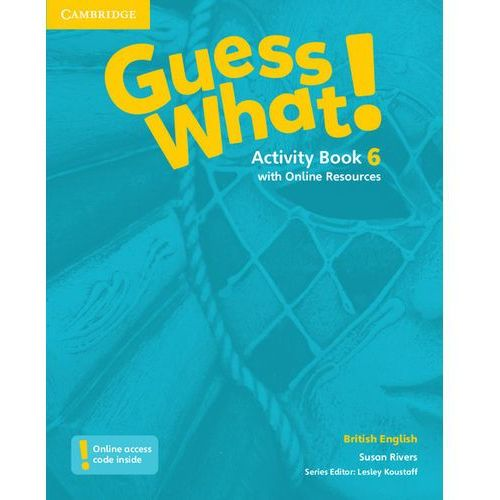Guess What! 6 Activity Book with Online Resources - Wysyłka od 3,99 (9781107545557)