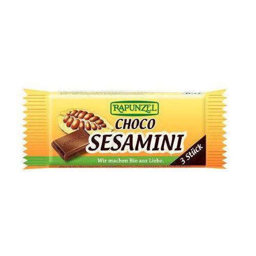 RAPUNZEL 27g Sezamki w czekoladzie Bio