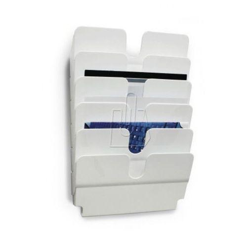 Zestaw 6 pojemników Durable Flexiplus A4 biały 1700014011, 56043