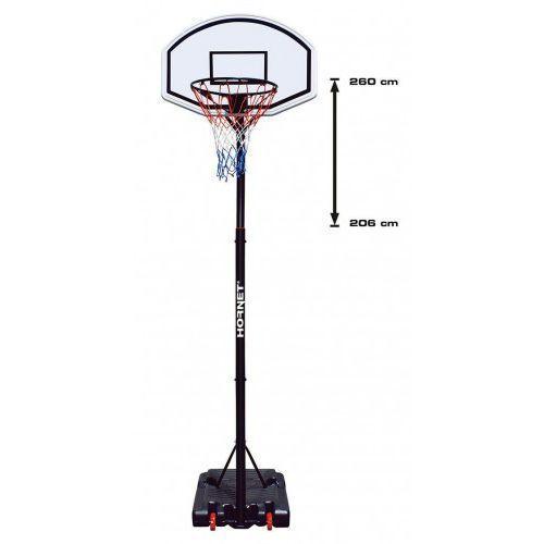Kosz hornet 260 mobilny zestaw do koszykówki marki Hudora