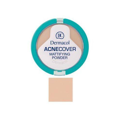 Dermacol acnecover mattifying powder | matujący puder do cery problematycznej shell 02 11g